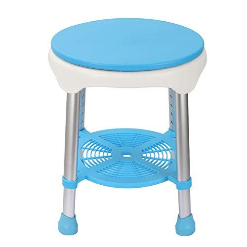 Shower Seats for Elderly Bath Chair Reinforced Shower Bath Stools Aid Non-Slip Shower Chair Aluminum Alloy Ergonomic Shower Stool Load Capacity 100 Kg