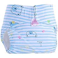 Tefamore Pañales Bebé de Infantiles Reutilizables Pantalones