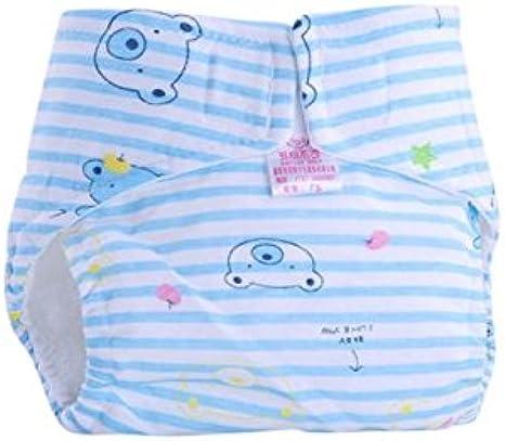 Tefamore Pañales Bebé de Infantiles Reutilizables Pantalones de ...