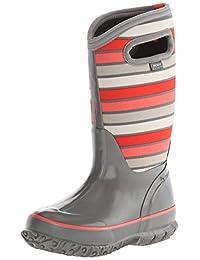 Bogs Classic Stripes Waterproof Winter & Rain Boot (Infant/Toddler/Little Kid/Big Kid)