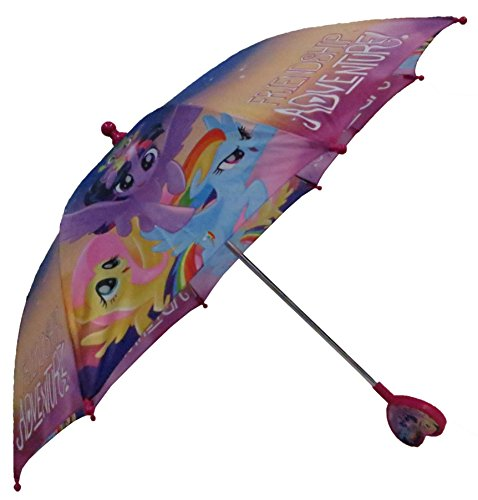 Hasbro Little Girls My Little Pony Rainbow Character's Umbrella, Multi, One Size