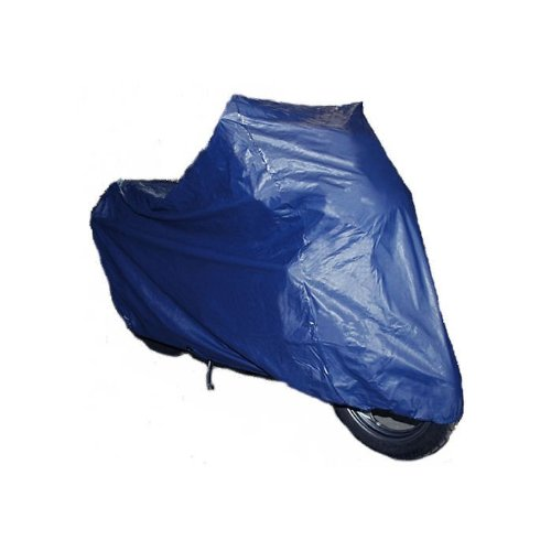 Moto Professional High Quality Motorrad Abdeckplane blau L