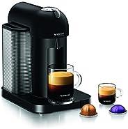 Nespresso GCA1-US-BM-NE VertuoLine Coffee and Espresso Maker, Matte Black