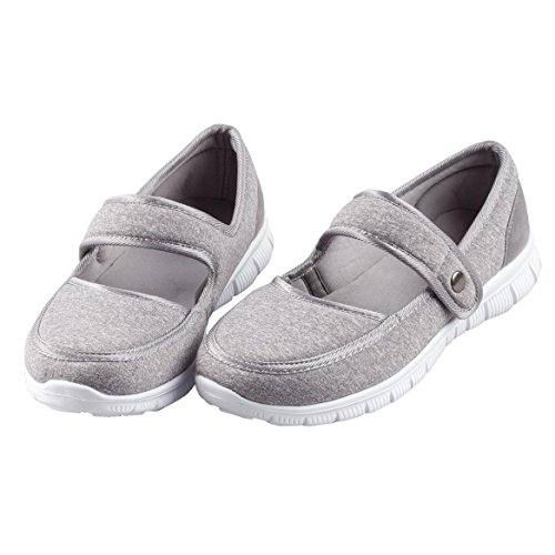 EasyComforts Silver StepsTM Feather Lite Mary Jane Shoes