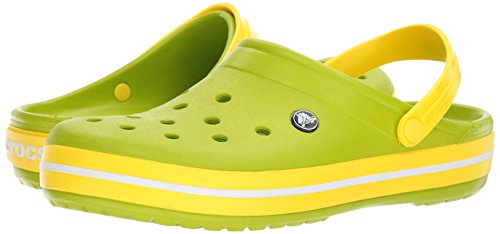 Sabots Crocs Crocband Green Vert lemon Mixte Adulte volt qqFr8wg5