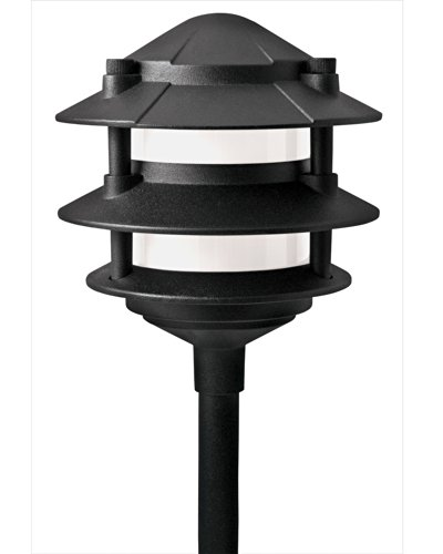 Paradise GL22764 Low Voltage Cast Aluminum 11W Path Light (Black, 6 Pack) by Paradise (Image #1)