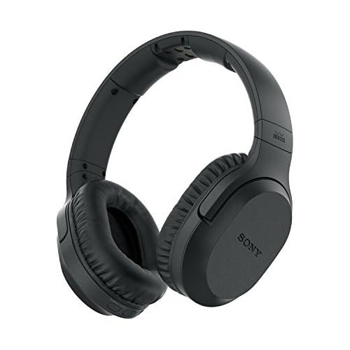 chollos oferta descuentos barato Sony MDR RF895RK Auriculares Inalámbricos Cancelación de Ruido Transmisión por Radiofrecuencia 20 Horas de Batería Modo Voz Color Negro 30