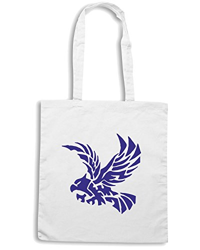 T-Shirtshock - Bolsa para la compra FUN0787 bird birds animal car or wall vinyl decal sticker 27 39567 Blanco