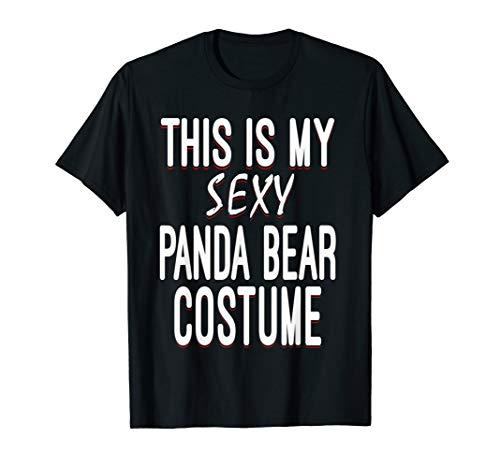 Easy Halloween Costumes College (Sexy Panda Bear Lazy Halloween Costume Funny Easy)