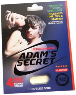 1 Best Seller Adam s Secret Male Enhancement Stimulant Pills Discreet Delivery.
