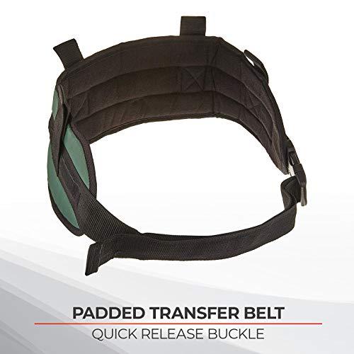 Sammons Preston Padded Gait Belt with Handles, 5.5