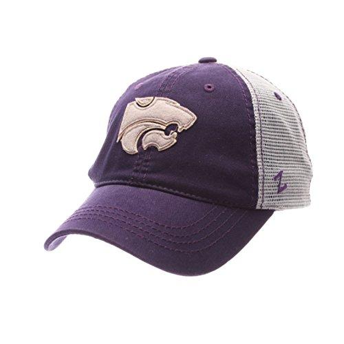 Zephyr NCAA Kansas State Wildcats Adult Men Springtime Relaxed Cap,Adjustable,Purple