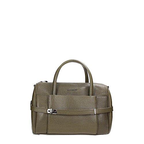 Mandarina duck 142fct0901k boston bag women leather green tu we love bags - Mandarina home online ...