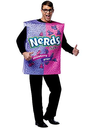 Nestle Nerds Box Costume - One Size - Chest Size (Nerd Box Costume)