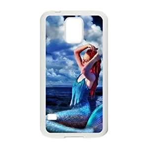Anime Mermaid Samsung Galaxy S5 Cell Phone Case White SUJ8489341