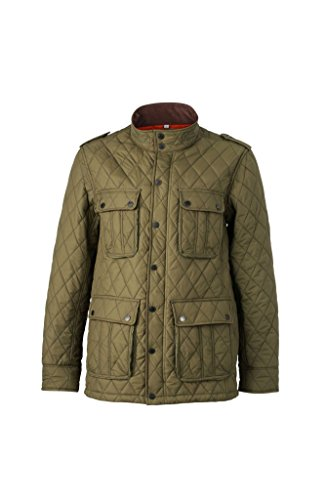 Il Piumino Diamond Business Alla Dark E Jacket Per Men's Quilted Tempo Libero olive Moda fxq4fwnCag