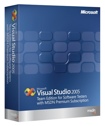 Microsoft Visual Studio Team Edition for Software Testers 2005  w/MSDN Premium Renewal [Old Version]