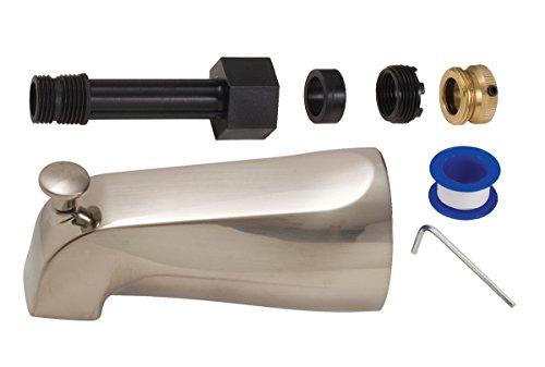 BrassCraft Universal Diverter Tub Spout, PVD Satin Nickel by BrassCraft Mfg