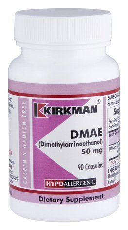 DMAE (Dimethylaminoethanol) 50 mg Capsules - Hypo by Kirkman Labs