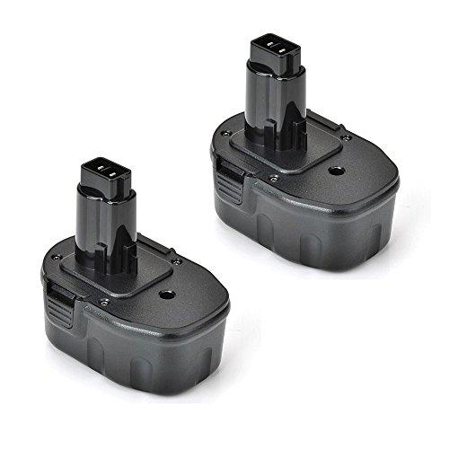 2x Masione 14.4v 3000mAh Replacement Battery for DEWALT DC DW Series Compatible With DC9091 DE9038 DE9091 DE9092 DE9094 DE9502 DW9091 DW9094