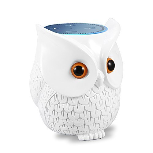 Mounchain Smart Speaker Stand, Voice Control Statue Crafted Guard Station Creative Home Decoration for Smart Home by Mounchain