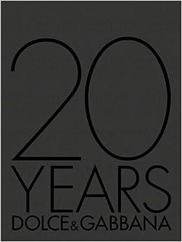 Book 20 Years: Dolce and Gabbana