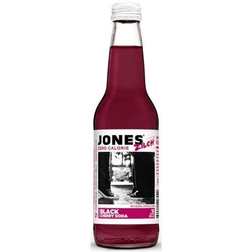 Jones Soda 4pk Zilch Sf Blck Chry by Jones Soda Co.