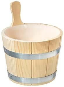 EOS - Cubo para sauna (5 l, madera de coníferas)