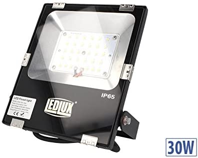 Slim Foco Proyector Led 30 W, 220 V=330W Blanco Neutro IP65, Smd ...