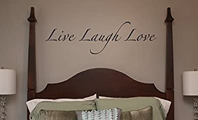 WALL DECALS - Live Laugh Love - lettering wall stickers