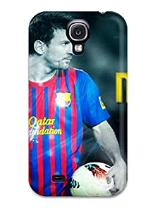 Galaxy S4 Case Slim [ultra Fit] Amazing Lionel Messi Protective Case Cover