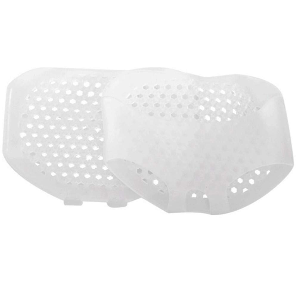 acction Super Soft Gel Silicon Care Honeycomb shape 1Pair Gel Metatarsal Sore Ball Foot Pain Cushions Pads Insoles Forefoot Support