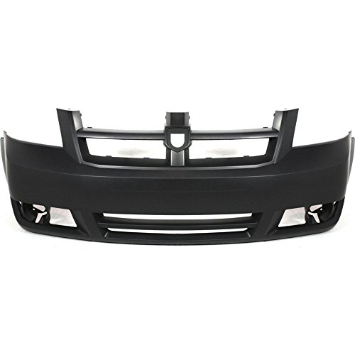 Front BUMPER COVER Primed for 2008-2010 Dodge Grand - Dodge Cover Front