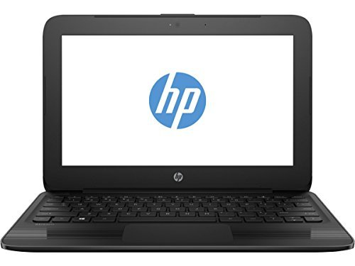 "HP High Performance Premium 11.6"" Business Laptop Notebook (Intel Celeron Processor, 4GB Ram, 64GB SSD, Intel HD Graphics, WiFi, Bluetooth, Windows 10Pro)-Black"