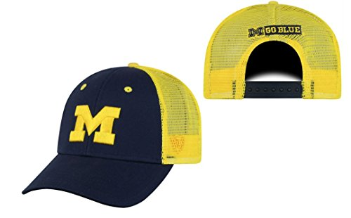 - Top of the World Michigan Wolverines Adult NCAA Team Spirit Structured Fit Meshback Hat - Team Color,