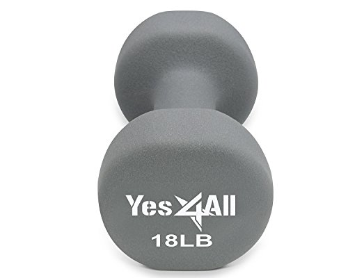 Yes4All Deluxe Neoprene Dumbbell Single
