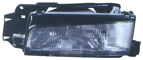 (Depo 316-1113L-AS Mazda 323/Protege Driver Side Replacement Headlight Assembly )