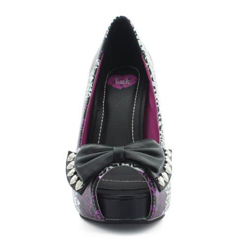 T.U.K. - Zapatos de vestir de sintético para mujer blanco - White-Black
