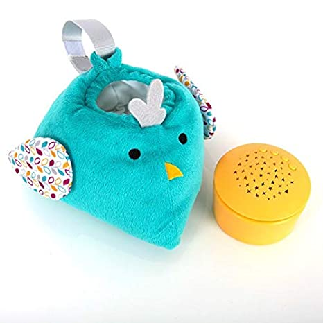 Purflo Little Lumies Twinkle Lights - Proyector de chupete con ...