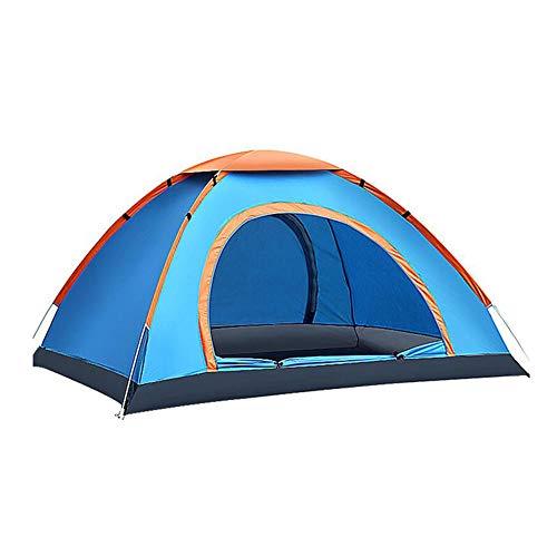 揺れる失業者ハンマーDALL テント テント ドーム キャンプのテント 軽量 防水 2人 アウトドア 単層 (色 : 青)