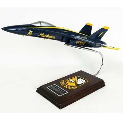 Hornet 18a (F/A-18A Hornet Blue Angels (1:38); CF018BATS)