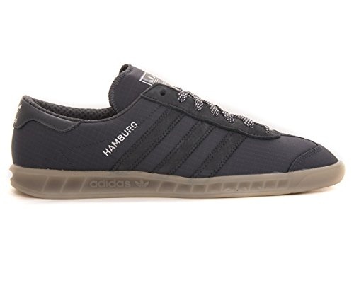 b07a99705522 adidas Hamburg Tech S75506 Trainers In Black Black Gum (UK13)   Amazon.co.uk  Shoes   Bags