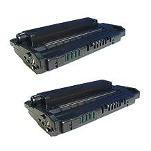 Amsahr C3906A HP C3906A, LaserJet 5L, 5ML, 6L Compatible Replacement Toner Cartridge with Two Black Cartridges