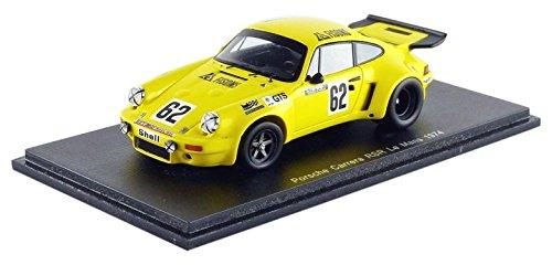Spark – S3492 – Porsche – 911 Carrera RSR – Le Mans 1974 – Maßstab 1/43 – Gelb