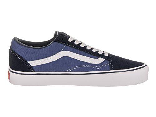 Vans Unisex Old Skool Lite (suede / Tela) Scarpa Da Skate Blu