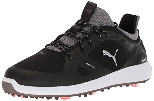 PUMA Golf Men's Ignite Pwradapt Golf Shoe Black, 12 Wide US