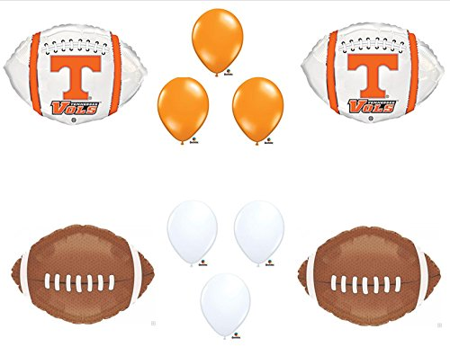 University of Tennessee Vols Football Birthday Party Balloons Decorations Supplies -