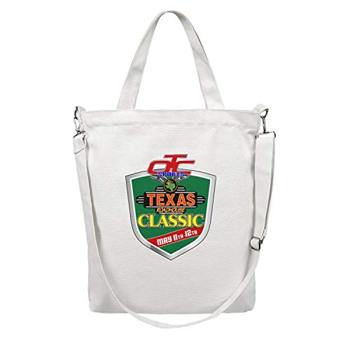 Canvas Tote Bag Texas Roadhouse Classic Shoulder Tote Bag Handbag Large Shopper Reusable Handbag Women's