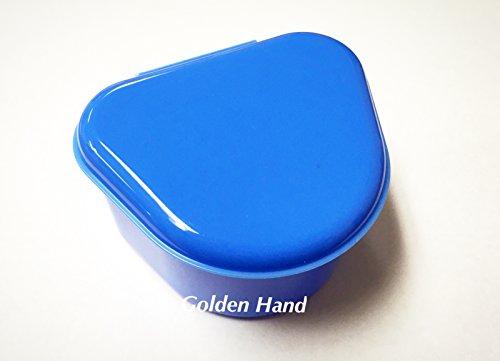 Denture Orthodontic MouthGuard Storage Container Box / Case (Dark Blue)
