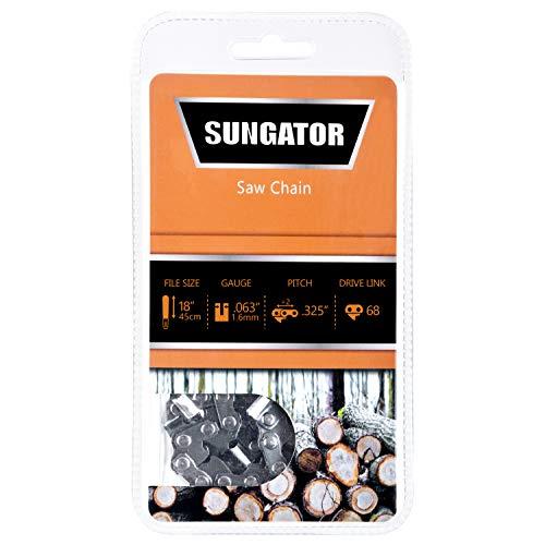 SUNGATOR 18-Inch Chainsaw Chain SG-L68, .325